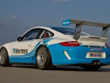 Die Porsche des Attempto Racing Teams