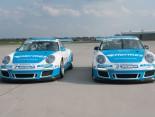 Die Porsche des Attempto Racing Teams
