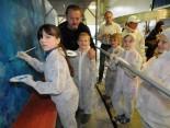 Kinder bemalen WAB in Hückelhoven