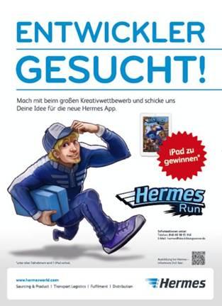 Hermes Kreativwettbewerb für Schüler