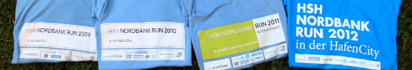 HSH Nordbank Run Finishershirts seit 2009