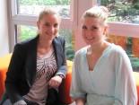 Ich (links) mit unserer Anna (rechts)