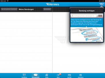 iPad Sendungsverfolgung