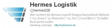 Hermes-Twitter-Bio