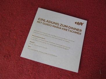 Einladung zum eBay Blogger Dinner