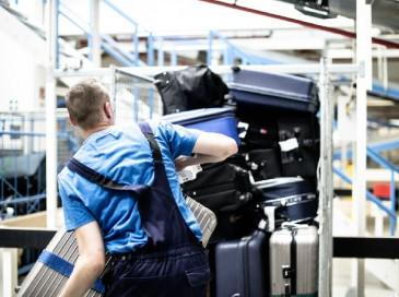 Koffer auf Reisen