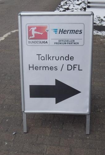 Talkrunde Hermes / DFL