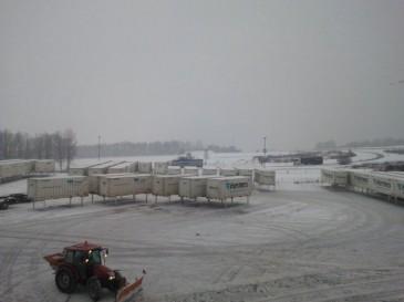 Hermes HUB Friedewald im Schnee 2