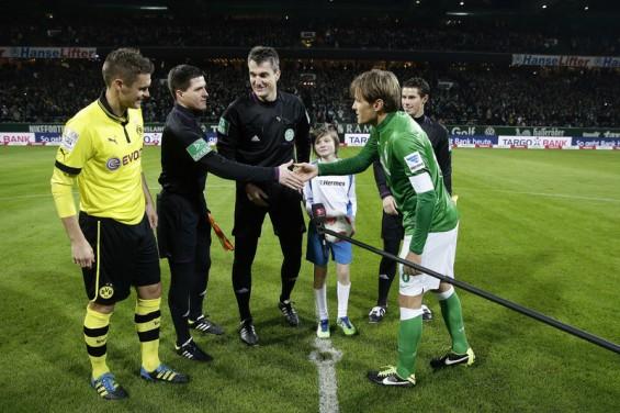 Werder Bremen v Borussia Dortmund  For DFL