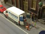 Hermes im Miniatur Wunderland Hamburg