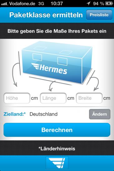 iPhone4 - Paketklasse