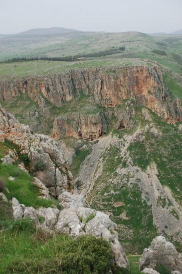 2013 Februar - Jesus Trail _Abstieg von den Cliffs of Arbel (Foto: Bettina Kudlich)