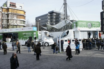 Fantour Stopp Dortmund Die Trucks
