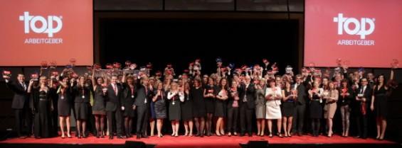 Gruppenbild Top Arbeitgeber 2013