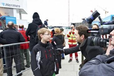Hermes Fan Tour Berlin Interview Sky Sport News