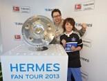 Hermes Fan Tour Hamburg Foto Meisterschale