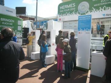 Hermes Fan Tour Hamburg_Terminals