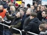 Hermes Fan Tour Köln Fußball-Fans