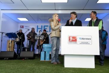 Hermes Fan Tour Köln Toni Schumacher im Interview