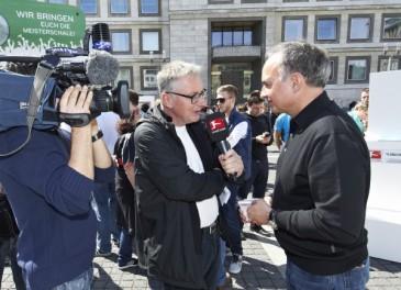 Hermes Fan Tour Stuttgart Hansi Müller Interview