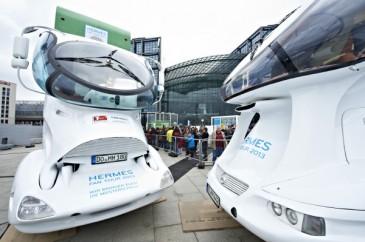 Hermes Fan Tour Berlin Trucks