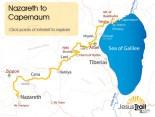 Jesus Trail Karte