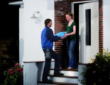 Hermes Service - Paket Abholung an der Haustür