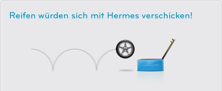 Briefe Mit Hermes Versenden : Reifen versenden mit hermes