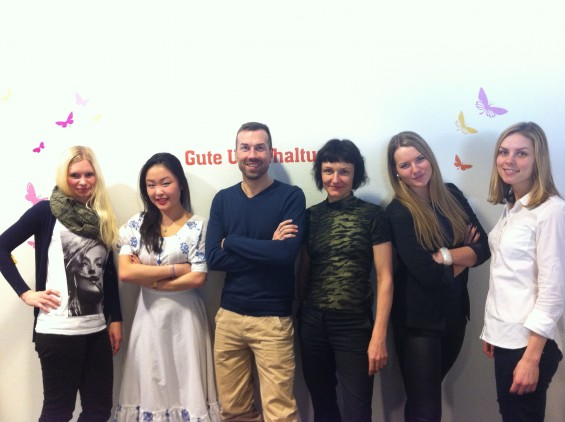 OTTO - Two For Fashion Team (vlnr Steffi, Thuy, René, Claudia, Rebecca und Sina)
