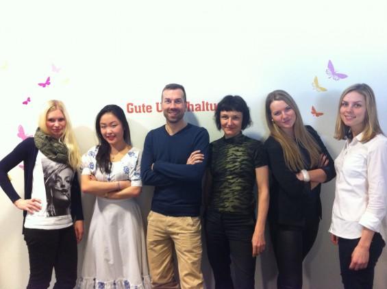 OTTO - Two For Fashion Team (vlnr Steffi, Thuy, René, Claudia, Rebecca und Sina)