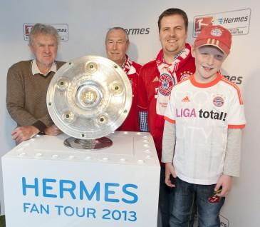 Hermes Fan Tour Sepp Maier