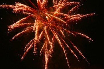Feuerwerk beim Hagengeburtstag Hamburg Foto: Lennart Poettering
