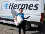 Unterwegs auf der Letzten Meile mit dem Hermes Boten