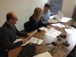 Paper Prototyping bei Hermes mit Probandin