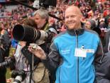 Hermes Super-Fan @ FC Bayern München vs FC Augsburg