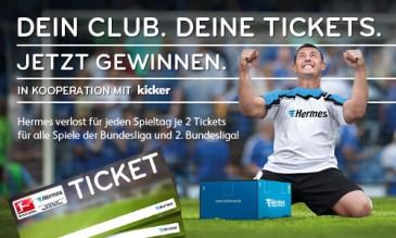 Hermes Bundesliga Ticket Gewinnspiel