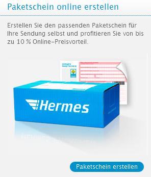 Hermes Paketschein online erstellen