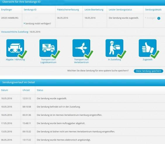 Hermes Einrichtungs Service Sendungsverfolgung : sendungsverfolgung was bedeutet der paketstatus ~ Markanthonyermac.com Haus und Dekorationen