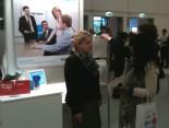 Hermes Stand bei der Jobmesse