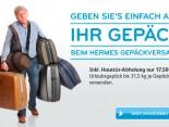 Mit Hermes Koffer versenden