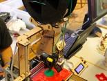 FabLab 3D-Drucker in Aktion