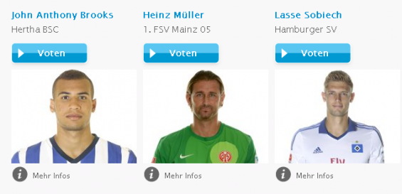 Hermes True Hero Erster Bundesliga-Spieltag