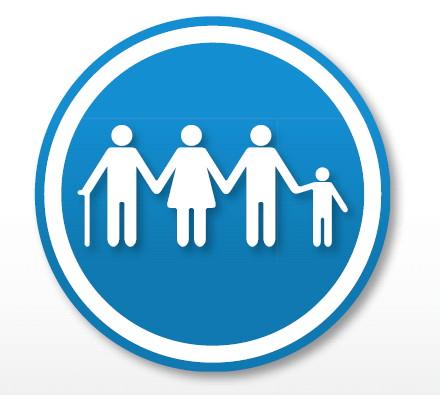 Hermes Beruf und Familie WE! CARE! Logo