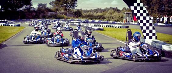 Hermes & Friends Kart Championship 2013 Das Rennen