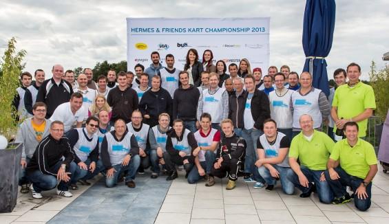 Hermes & Friends Kart Championship 2013 Die Teilnehmer