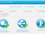 Hermes Sendungsverfolgung - QR-Code-Link