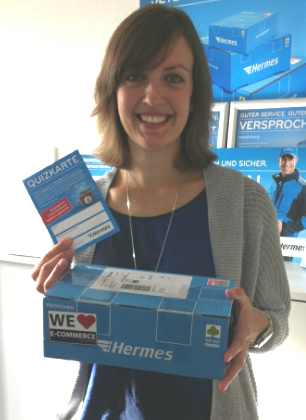 5 Fragen an Hermes Mitarbeiterin Kerrin Merkel