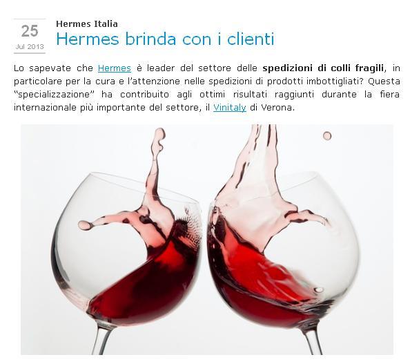 Hermes Italia Blog Artikel