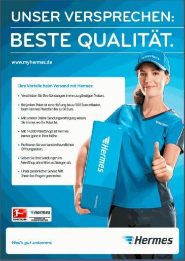 """Neu am Hermes PaketShop - """"Unser Versprechen Beste Qualität"""""""