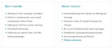 Hermes Vorteile für Versandhändler im ProfiPaketService